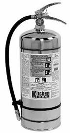 "Kitchen One Class ""K"" Extinguishers"
