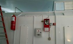 Paint Booth Spray Fire Suppression Systems