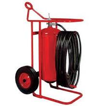 Wheeled Unit Fire Extinguishers